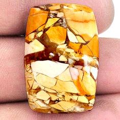24.45cts brecciated mookaite (australian jasper) 28.5x19mm loose gemstone s20846