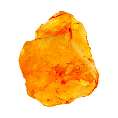 7.15cts citrine rough yellow rough 15x13 mm fancy loose gemstone s18391