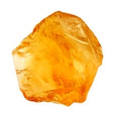 10.10cts citrine rough yellow rough 15x14 mm fancy loose gemstone s18394