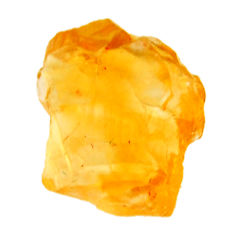 10.15cts citrine rough yellow rough 16x13.5 mm fancy loose gemstone s18381