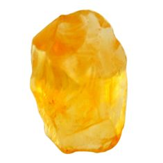 12.40cts citrine rough yellow rough 17x12 mm fancy loose gemstone s18383