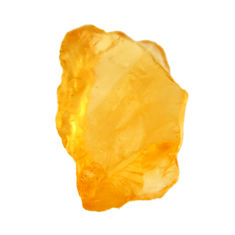 13.35cts citrine rough yellow rough 18.5x12 mm fancy loose gemstone s18388