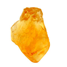 10.30cts citrine rough yellow rough 18.5x12 mm fancy loose gemstone s18398
