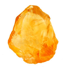 10.15cts citrine rough yellow rough 18x12.5 mm fancy loose gemstone s18390