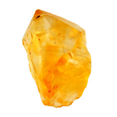 16.20cts citrine rough yellow rough 20x12 mm fancy loose gemstone s18400