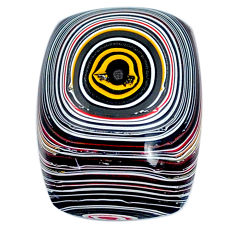 10.15cts fordite detroit agate cabochon 21x15 mm octagan loose gemstone s21342