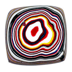 11.20cts fordite detroit agate cabochon 21x21 mm octagan loose gemstone s21354