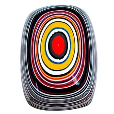 11.45cts fordite detroit agate cabochon 22x15 mm octagan loose gemstone s21353