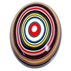 11.30cts fordite detroit agate cabochon 23.5x17 mm fancy loose gemstone s21351