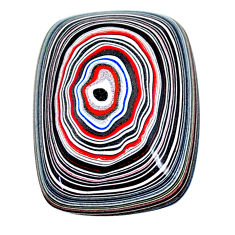 8.15cts fordite detroit agate cabochon 25x18 mm octagan loose gemstone s22464