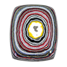 12.85cts fordite detroit agate cabochon 26x20 mm octagan loose gemstone s22458