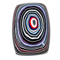 13.95cts fordite detroit agate cabochon 27x18 mm octagan loose gemstone s22449