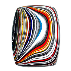 11.95cts fordite detroit agate cabochon 27x19 mm octagan loose gemstone s22409