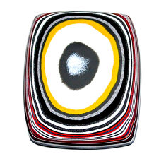 9.90cts fordite detroit agate cabochon 27x21 mm octagan loose gemstone s22469