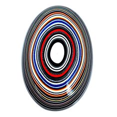 12.40cts fordite detroit agate cabochon 29x18 mm oval loose gemstone s21348