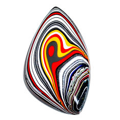 11.45cts fordite detroit agate cabochon 31x17 mm fancy loose gemstone s22474