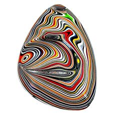 9.30cts fordite detroit agate cabochon 32x22 mm fancy loose gemstone s22404