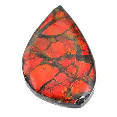 Natural 14.20cts ammolite (canadian) 26x16.5 mm fancy loose gemstone s22788