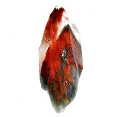 Natural 107.10cts angel phantom quartz brown rough 60x24mm loose gemstone s19923