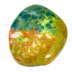 Natural 41.35cts apatite (madagascar) orange 28x23.5 mm loose gemstone s22796