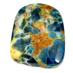 Natural 50.15cts apatite (madagascar) orange 30x23.5 mm loose gemstone s22795