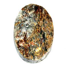 Natural 35.10cts astrophyllite (star leaf) 27x18 mm oval loose gemstone s22152