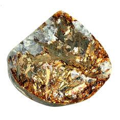Natural 57.35cts astrophyllite (star leaf) 30x28.5mm fancy loose gemstone s22156