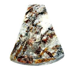 Natural 38.45cts astrophyllite (star leaf) 31x25 mm fancy loose gemstone s22158