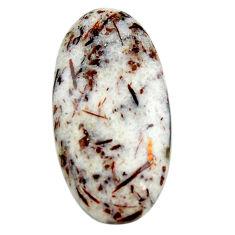 Natural 28.45cts astrophyllite (star leaf) 32.5x17 mm oval loose gemstone s18788