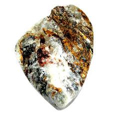 Natural 39.45cts astrophyllite (star leaf) 32x20 mm fancy loose gemstone s22154