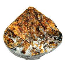 Natural 84.45cts astrophyllite (star leaf) 33.5x32.5 mm loose gemstone s22148
