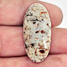 Natural 24.35cts astrophyllite (star leaf) 34x16 mm oval loose gemstone s17116