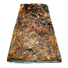 Natural 96.30cts astrophyllite (star leaf) 38x32 mm fancy loose gemstone s22157