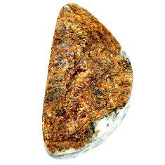 Natural 73.10cts astrophyllite (star leaf) 44x22 mm fancy loose gemstone s22159