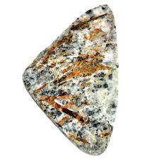 Natural 107.10cts astrophyllite (star leaf) 66x38 mm fancy loose gemstone s22160