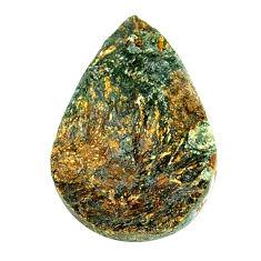 Natural 25.10cts astrophyllite (star leaf) bronze 26x17 mm loose gemstone s21959