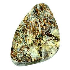 Natural 22.35cts astrophyllite (star leaf) bronze 28x18 mm loose gemstone s21952