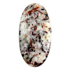 Natural 23.45cts astrophyllite (star leaf) bronze 36x17 mm loose gemstone s18783