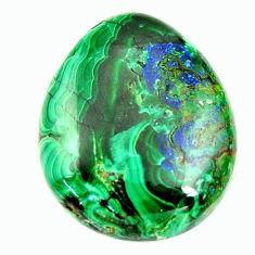 Natural 20.05cts azurite malachite green 22x18 mm fancy loose gemstone s17395