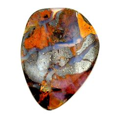 Natural 17.40cts boulder opal brown cabochon 25x18mm fancy loose gemstone s16298
