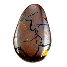 boulder opal brown cabochon 26.5x15.5 mm loose gemstone s16287