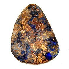 boulder opal brown cabochon 34x25mm fancy loose gemstone s16261