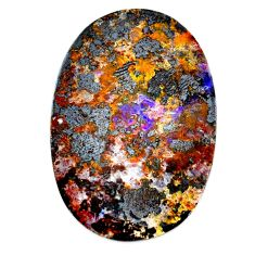 Natural 55.10cts boulder opal brown cabochon 38x25.5 mm loose gemstone s21401