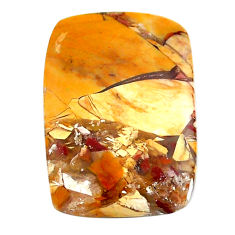 Natural 14.35cts brecciated mookaite 24x17 mm octagan loose gemstone s24454