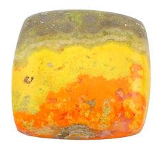 Natural 21.30cts bumble bee australian jasper 20x19 mm loose gemstone s22810
