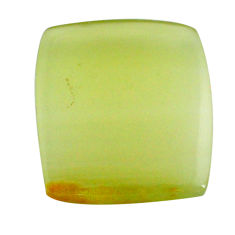 Natural 29.35cts calcite yellow cabochon 25x22.5mm octagan loose gemstone s24595