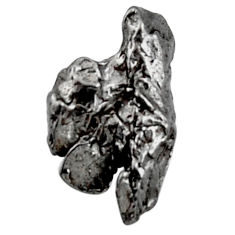 Natural 12.40cts campo del cielo (meteorite) 18x11mm fancy loose gemstone s18859