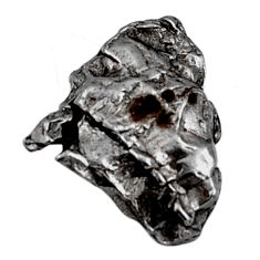 Natural 18.25cts campo del cielo (meteorite) 18x16mm fancy loose gemstone s18842