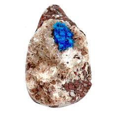 Natural 29.30cts cavansite blue cabochon 29x17 mm fancy loose gemstone s22004
