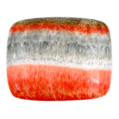 Natural 13.10cts celestobarite orange cabochon 17x15 mm loose gemstone s19839
